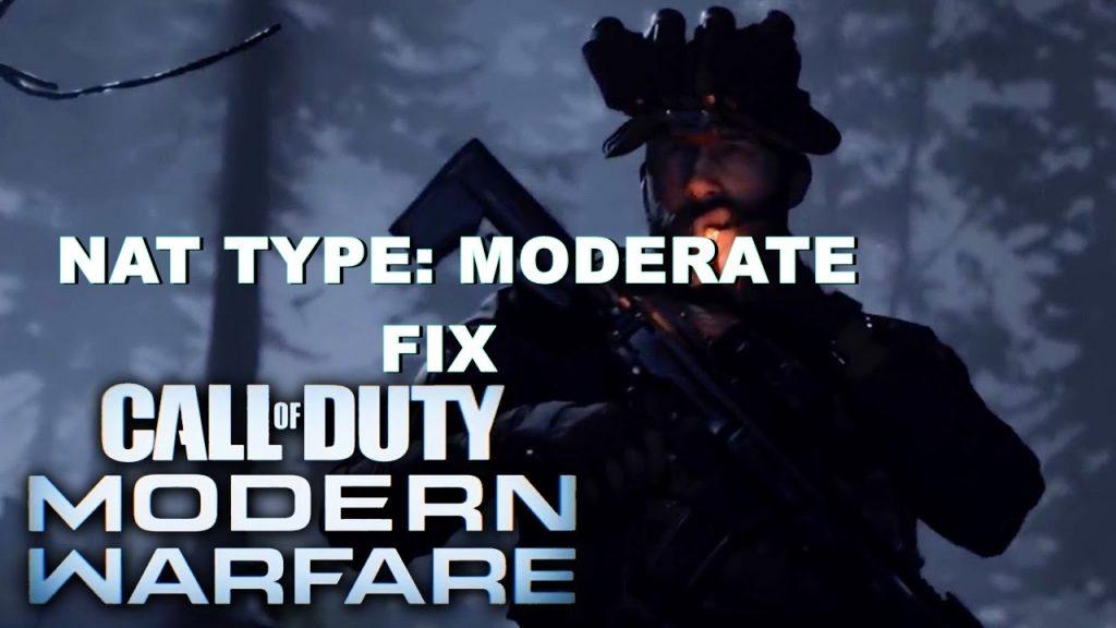 call of duty modern warfare nat moderate fix