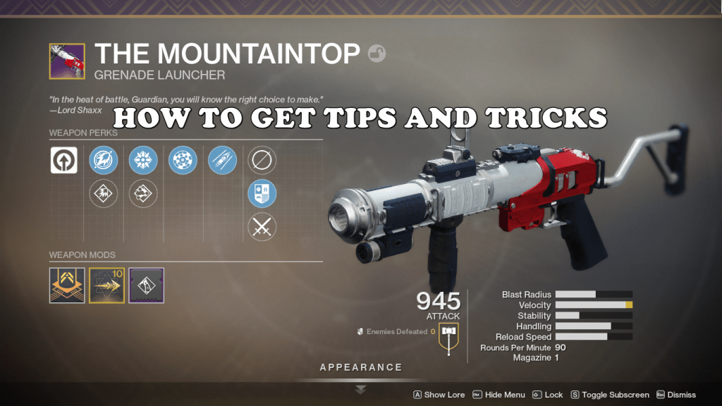 how to get mountaintop 2019