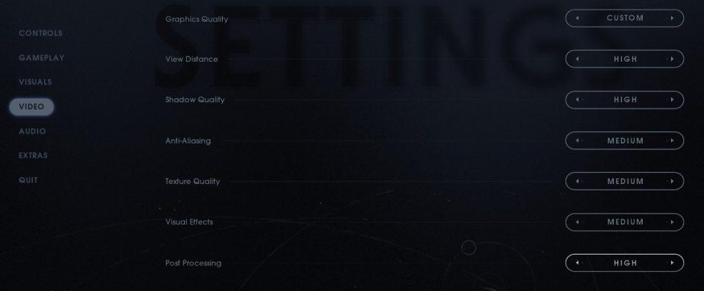 jedi fallen order video settings