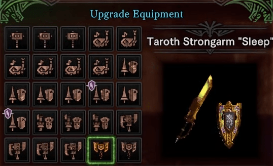 Kulve teroth weapon upgrade mhw iceborne guide