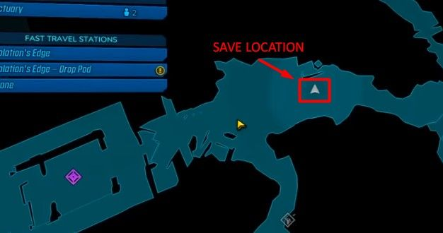 DNA save location bl3
