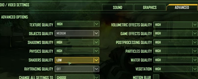 Crysis remastered best graphics settings