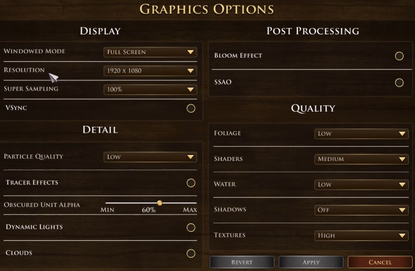 Age of Empires III Definitive Edition Best graphics settings PC