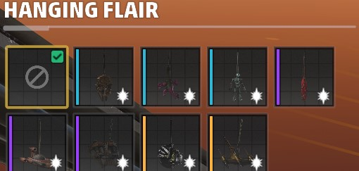 hanging flair star wars squadrons