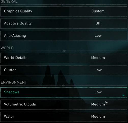 Best PC Graphics Settings for AC Valhalla 1