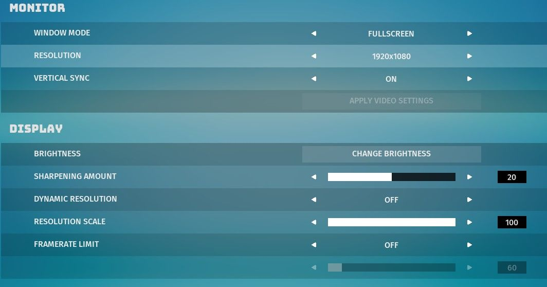 Biomutant best pc graphics settings 2