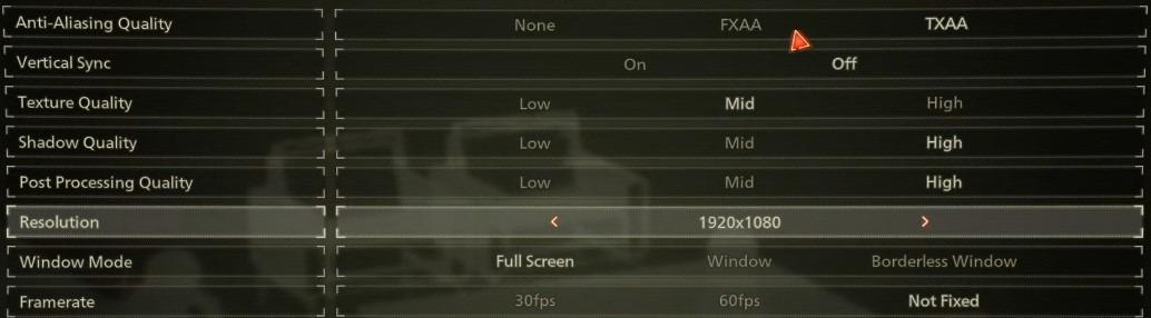 Scarlet Nexus best pc settings