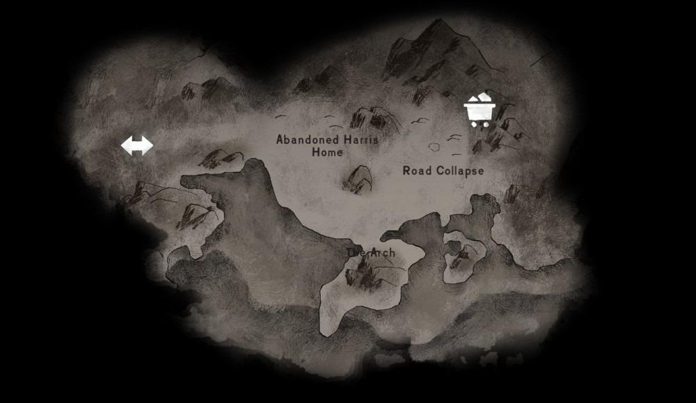 Crumbling Highway map