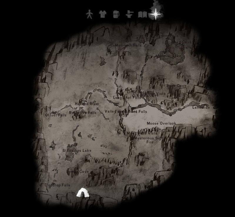 Hushed River Valley map