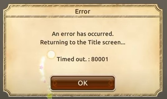 konosuba fd an error occured how to fix